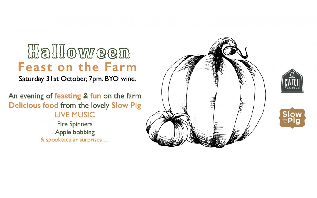 Halloween Feast on the Farm with Slow Pig